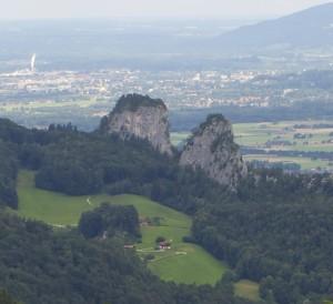 Aussicht Barmsteine © Salzburg Research