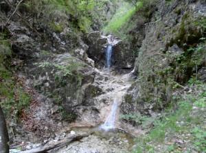 Kleiner Wasserfall am Flotter Bach © SalzAlpenSteig e.V.