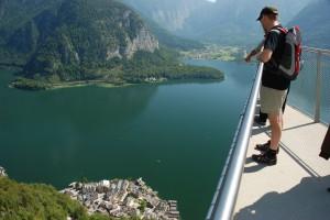 Aussichtsplattform Welterbeblick © Salzwelten Hallstatt